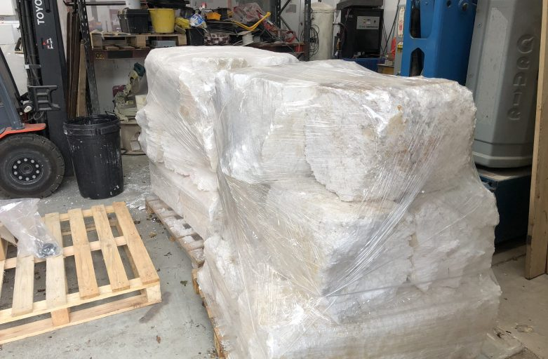 Polystyrene Compacting