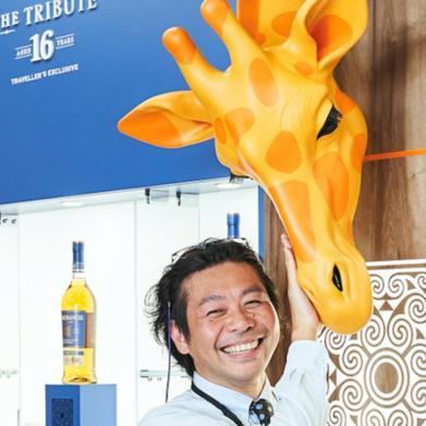 Glenmorangie Whiskey Giraffe