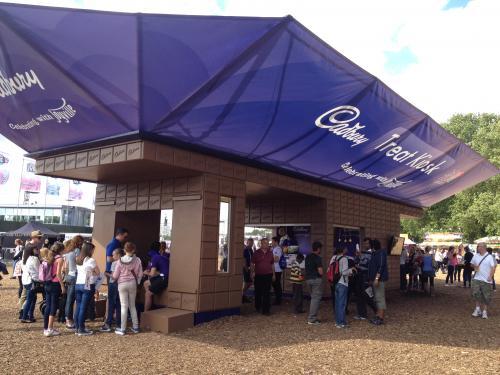 Cadbury Booths