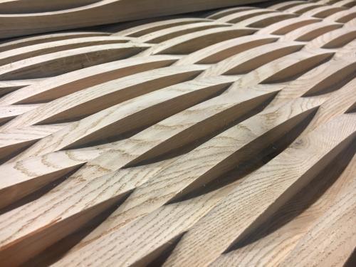 Oak Planter Design