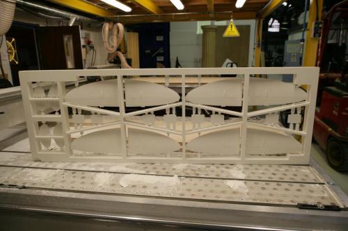Spitfire Model Parts