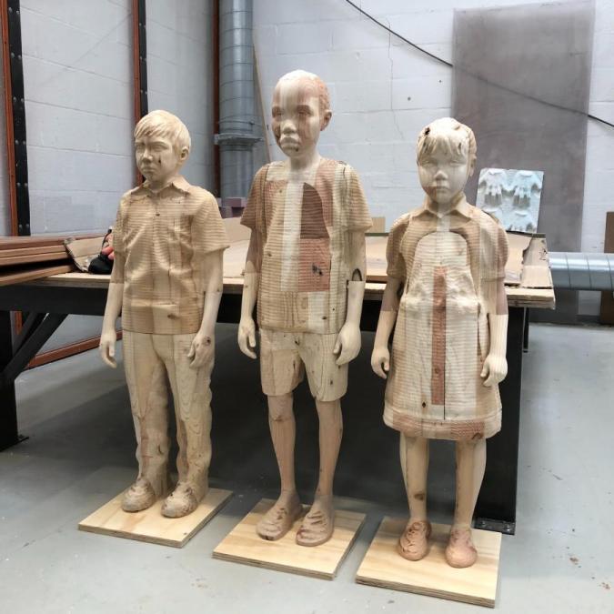 Class of No Tomorrow Sculptures